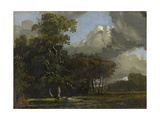 Woodland Landscape, C. 1816 - 1820 Giclee Print by William Turner