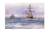The Old 'Invincible' 1872, 1915 Giclee Print by William Lionel Wyllie