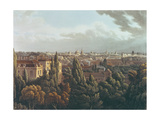 View of Oxford from the Gallery in the Observatory, Engraved by J. Bluck, 1st July 1814 Giclee Print by William Turner