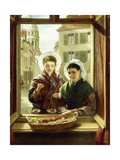 At My Window, Boulogne, 1872 Giclee Print by William Powell Frith