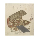 Patterned Folder for Horinouchi Circle, Mid 19th Century Giclee Print by Yashima Gakutei