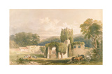Mount Grace Priory Giclee Print by William Richardson
