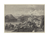 View of the Isola Bella, on the Lago Maggiore, Italy Giclee Print by William Leighton Leitch