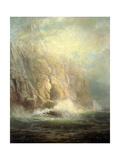 Lands End, Cornwall, 1888 Giclee Print by William Trost Richards
