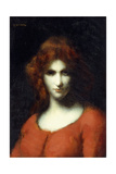 Portrait of Miss Addison Head of San Francisco, 1874 Giclee Print by William-Adolphe Bouguereau