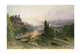 Landscape with a Large House Giclee Print by William Wyld