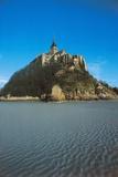 Benedictine Abbey of Mont Saint-Michel (Unesco World Heritage List Giclee Print