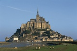 Benedictine Abbey of Mont-Saint-Michel Photographic Print