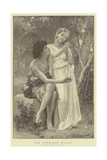 Les Premiers Bijoux Giclee Print by William-Adolphe Bouguereau