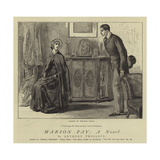 Marion Fay, a Novel Giclee Print by William Small