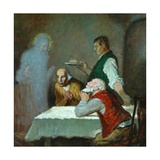 The Supper at Emmaus Giclee Print by William Strang