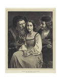 Between Love and Riches Giclee Print by William-Adolphe Bouguereau