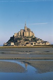 Benedictine Abbey of Mont-Saint-Michel Photographic Print