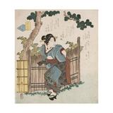 Mono Iwanu Hana 'Silent Flowers' Giclee Print by Yanagawa Shigenobu II