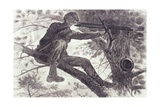 A Sharp-Shooter on Picket Duty, 1862 Giclee Print by Winslow Homer