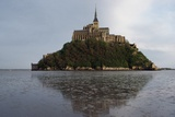 Benedictine Abbey of Mont Saint-Michel (Unesco World Heritage List Giclee Print