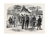 A Visit to the Tycoon of Japan Giclee Print