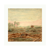 American Civil War: View on Battle Field of Antietam Where Sumner's Corps Charged the Enemy. Scene Giclee Print