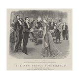 The New Prince Fortunatus Giclee Print by William Small
