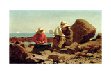 The Boat Builders, 1873 Giclee Print by Winslow Homer