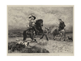 Cavalier and Roundhead Giclee Print by William Strutt