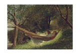 Girl in the Hammock, 1873 Giclee Print by Winslow Homer