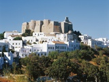Chora (Historic Centre) of Patmos and Monastery of St John Theologian (Unesco World Heritage List Fotografisk tryk