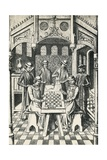 Chess Players Giclee Print