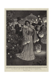 The Evening Fete of the Society of Arts in Regent's Park Giclee Print by William T. Maud
