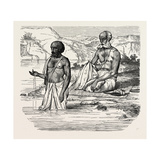 Brahmins Worshipping the Ganges Giclee Print
