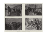The Return of Captain Dreyfus to France Giclee Print by William T. Maud