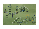 Autumn Flowers Giclee Print