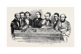 Chess Celebrities at the Late Chess Meeting Giclee Print