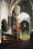 Central Nave and Altar of Cathedral of Tarragona Photographic Print