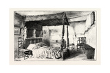 Bedroom in Anne Hathaway's Cottage at Shottery Giclee Print