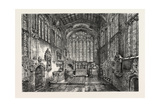 Chancel of Holy Trinity Church Giclee Print