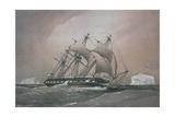 British Corvette HMS Challenger Giclee Print