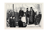 Distribution of Prizes by the Patriarch of Syria at St. Clement's and St. Andrew's High School Giclee Print