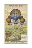 Dupuis-Delcourt Attempting to Measure the Direction of Air Currents Using Detatchable Balloons Giclee Print