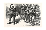 Falstaff Hancock His Ragged Regiment. Falstaff. If I Be Not Ashamed My Soldiers Giclee Print