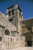 Entrance Courtyard of the Basilica of the Holy Sepulchre or Church of the Resurrection (11th-19th C Photographic Print