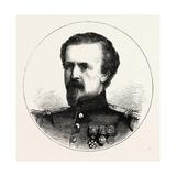 Franco-Prussian War: Pierre Philippe Marie Aristide Denfert-Rochereau Giclee Print