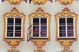 Decorated Windows of Building on Getreidegasse Photographic Print