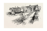 Garden Front of the House in Which Shakespeare Was Born Giclee Print