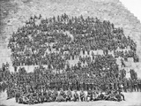 Group Portrait of All the Original Officers and Men of the 11th Battalion Giclee Print