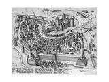 Henri IV (1553-1610) Entering Dijon Giclee Print