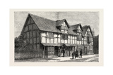 House in Which Shakespeare Was Born as Now Restored Giclee Print