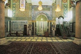 Interior with the Mihrab of Al-Aqsa Mosque Photographic Print