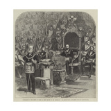 Installation of the Prince of Wales as Grand Master of the Freemasons Giclee Print