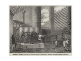 Interior of the Mill-House on the Carauna Estate Giclee Print
